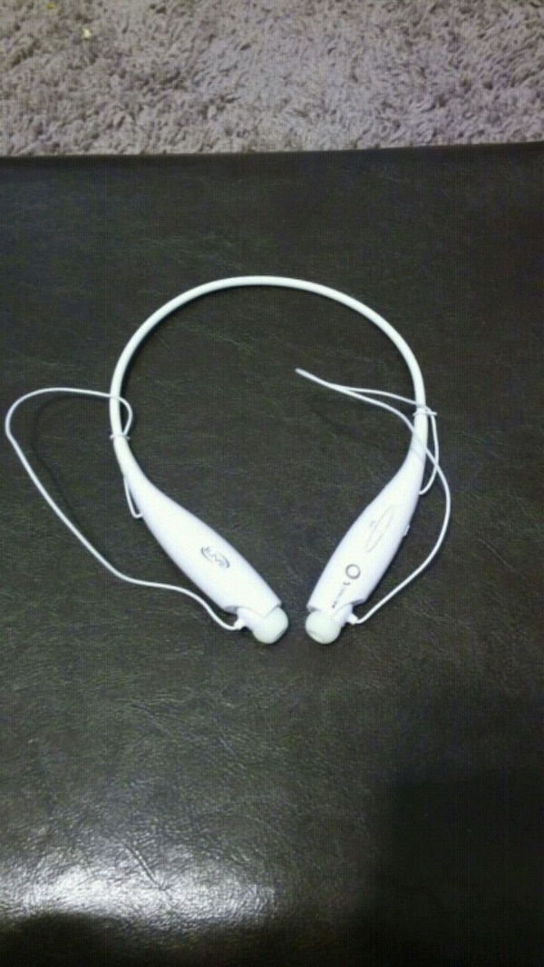 b8963817dfc Used white bluetooth neck earbuds for sale in Fontana - letgo