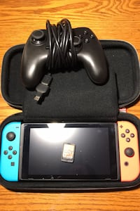 Nintendo Switch with game and controller (Comes with everything shown)