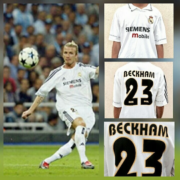 Used white David Beckham 23 jersey for sale in Los Angeles - letgo 5fa75c495