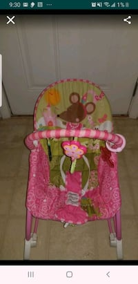 Baby Girl infant-to-toddle rocking chair