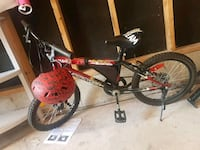 black and red BMX bike Cambridge, N1P 1C6