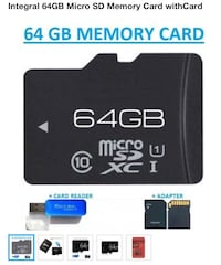 Brand New 64gb SD Memory card Bernalillo, 87004