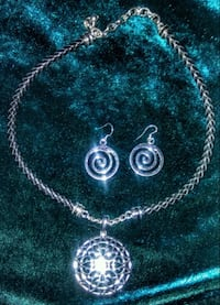 Earrings & necklace set Anderson, 96007