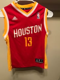 James Harden Throwback Houston Rockets Jersey (small)   Pearland, 77584