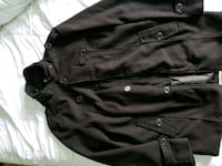 Unisex heavy winter zip up and button up jacket ml Hanover Park, 60133