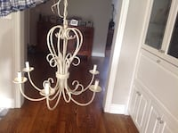 Beige iron 6 light chandelier Vaughan, L4J 8K8