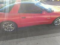 red and black convertible coupe Las Vegas, 89108