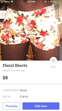 Floral shorts Hagerstown, 21740
