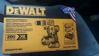 2 dewalt drills 2 batteries and a battery charger  Fairbanks, 99701