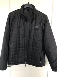 Black North face zip-up jacket Columbia, 21044