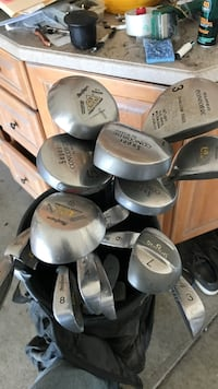 Macgregor Power Pyramid DX. Plus 4 Graphite woods and sand wedge Gridley, 95948