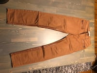 Riding style pants with leather detail size 5 Vancouver, V5T 2P9