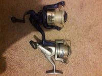 two black and gray fishing reels Bentonville, 72712