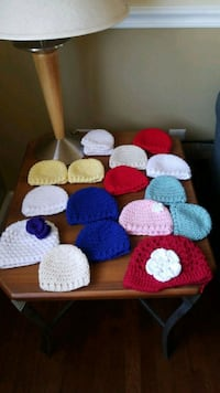 Crocheted baby beanies Woodbridge, 22193