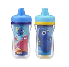 The first years 2 pack disney/pixar finding dory insulated sippy cup,9ounces (new,freeshipping)