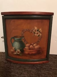 Decorative Hand Painted Wooden Wall Box