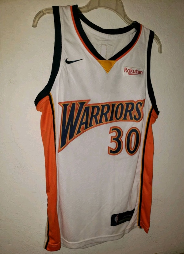 cheap for discount 41753 151f7 Steph Curry Golden State Warriors Retro Jersey