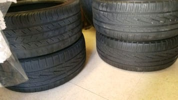4 tires size 225/45r17