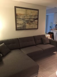 Jorge Distinctly Home Sectional Couch Toronto, M5V 0N8