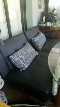 black and Futon couch Fort Lauderdale, 33315