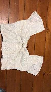 Size L off white crop top Orting, 98360
