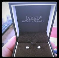 5mm Sterling Silver Stud Earrings From Jared Rochester, 14612