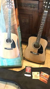 Fender premium acoustic guitar. FA-100 package.  With box and case.  Excellent condition & barely used. Aniwa, 54408