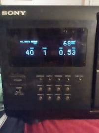 Sony 200 disc cd player