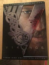 Vikings The Complete First Season DVD case