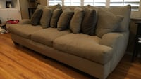 Gray 3-padded couch. Make an offer.