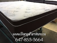 white and black floral mattress Toronto
