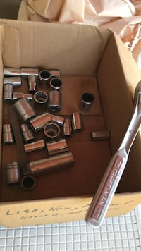 1/2 inch drive sockets and ratchet  Taylor Mill, 41015
