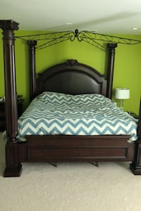 Complete Master bedroom set (Canopy - King size) Stallings, 28105