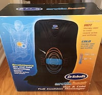 Brand new hot and cold full cushion massager