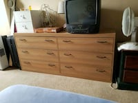 6 big drawer dresser Lethbridge, T1K 4G9