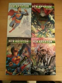 Superman New Krypton Vol 1-4 tradepaperback
