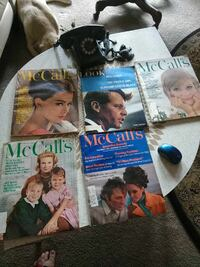 1963 McCall magazine and one look magazine 66 Kansas City, 64116