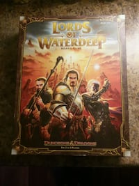 Board Game ☆ LORDS of WATERDEEP  Toronto, M5G 1M7