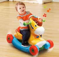 Ride on & Rocking Horse (brand new) 2 in 1