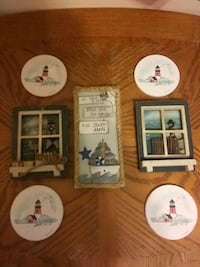 Coasters and decorations