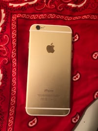 silver iPhone 6 with red case Miami, 33179