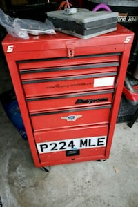 red Snap-on tool cabinet Brampton, L7A 1H3