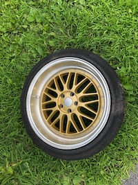Bbs all 4 rims with brand new tires 20s Middletown, 10940