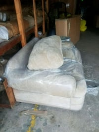 brown and gray fabric sofa chair