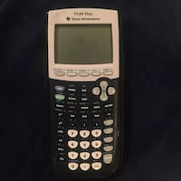 black and white Texas Instruments TI-84 Plus Bethesda