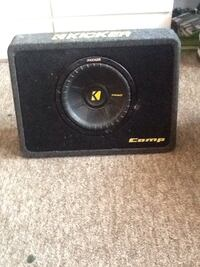 600 watt kicker Subwoofer. Brand new., Never used Hamilton, 08610