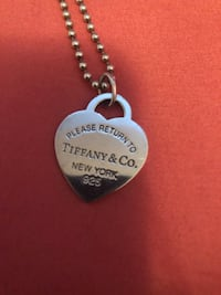 Authentic Tiffany & Co pedant with necklace  Markham, L3P 5C3