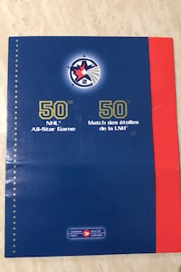 50th NHL All Star Game 2000 stamp sheet uncirculated  Toronto, M3H 4K4
