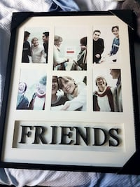 16X20 FRIENDS PHOTO COLLAGE PICTURE FRAME