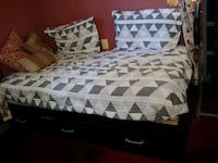 Twin bed with mattress.. Silver Spring